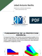 Fundamentos de la proyeccion diedrica.pptx