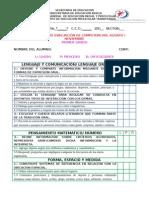 Evaluación Por Competencias Primer Grado