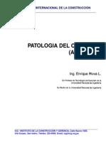Patologia del Concreto-  Enrique Rivva López
