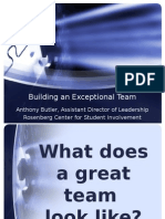 Building an Exceptional Team