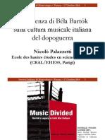 Bartok-hatasa-Italy Societa Italiana Di Musicologia