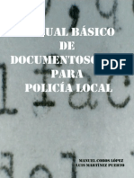 Manual Basico de Documentoscopia Para Policia Local