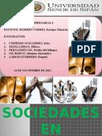 MONOGRAFIA FINAL DE SOCIEDADES EN COMANDITA - 12.11.2011 - GRUPO N° 2