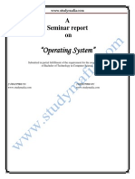CSE Operating System PDF