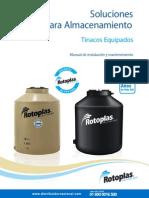 Manual Instalacion Tinaco ROTOPLAS