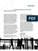 Cayman SPV Implications