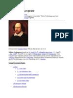 William Shakespeare Referat