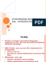 SynapseIndia Reviews on SQL - InTRODUCTION