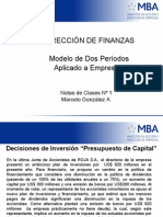 Apuntes Modelo de Dos Periodos 2010