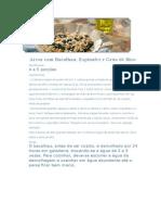 Arroz Com Bacalhau, Espinafre e Grão de Bico