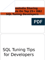 SynapseIndia Sharing Complaints on Top 25 DB2 SQL Tuning Developers