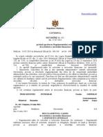 HG 433 Activitate a Serviciilor Financiare