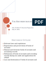 Learning Session 7_Tax Records Management_Pagayatan
