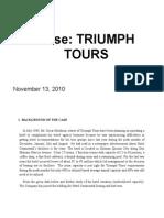 TRIUMPH TOURS