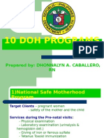 10 DOH programs.ppt