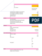 Slab spreadsheet
