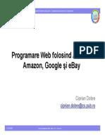 Programare Web folosind API-urile Amazon, Google şi eBay
