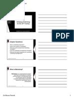 Marketing Management Basics