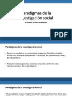 Paradigmas de La Investigación Social