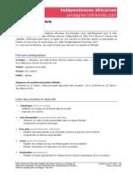 Independances Senegal Femme21eSiecle Prof