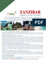 Revelion 2016 - Zanzibar