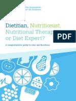 Dietitian Nutritionist