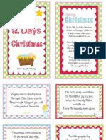 12 Days of Christmas Nativity 1