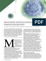 Mycotoxins and mycotoxicosis in livestock production
