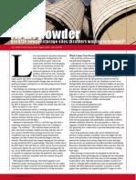 ATEX powder - Are ATEX powder storage silos disasters waiting to happen?