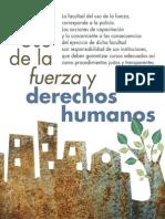 Uso de la Fuerza y Derechos Humanos