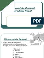 Microstatele Europei .Paradisuri Fiscale