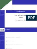 Determinantes - UNIFAVIP (1)