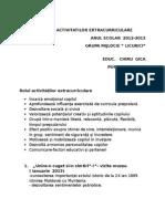RAPORTUL ACTIVITATILOR EXTRACURRICULARE.doc