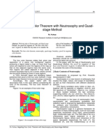 Negating Four Color Theorem with Neutrosophy and Quadstage Method