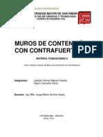 Informe - Muros Con Contrafuerte