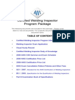 CWI Exam Only Pkg