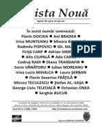 Revista Noua no. 4 - 2015
