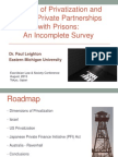 Models of Privatization and Public-Private Partnerships with Prisons