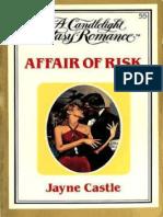 Jayne Ann Krentz (as Jayne Castle) [Candlelight Ecstasy 55] - Affair of Risk
