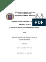 LA ACTITUD Y SU RELACION CON EL RENDIMIENTO ACADEMICO.pdf