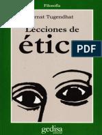 Tugendhat, E., Lecciones de Ética (Versión 2)