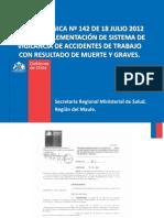 Norma 142 SEREMI Salud Maule