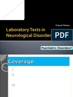 Laboratory Tests in Neurological Diseases [Stunents Cpoy]