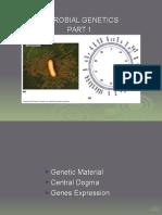 Microbial Genetics Part 1
