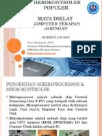 Macamdanjenismikrokontrolerpopuler Komputerterapanjaringan 140817081312 Phpapp01