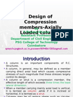 Design of Columns- Axial Load