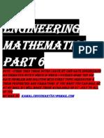 Maths Part 6