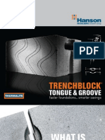 Aircrete Blocks Trenchblock Tongue and Groove