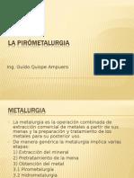 Presentación  Nº 16  Procesos Pirometalurgicos .ppt ucps unsa