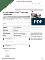 CAT 2015 Exam Dates _ Preparation Tips _ Books _ Exacthub